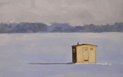 Lonely ice-house