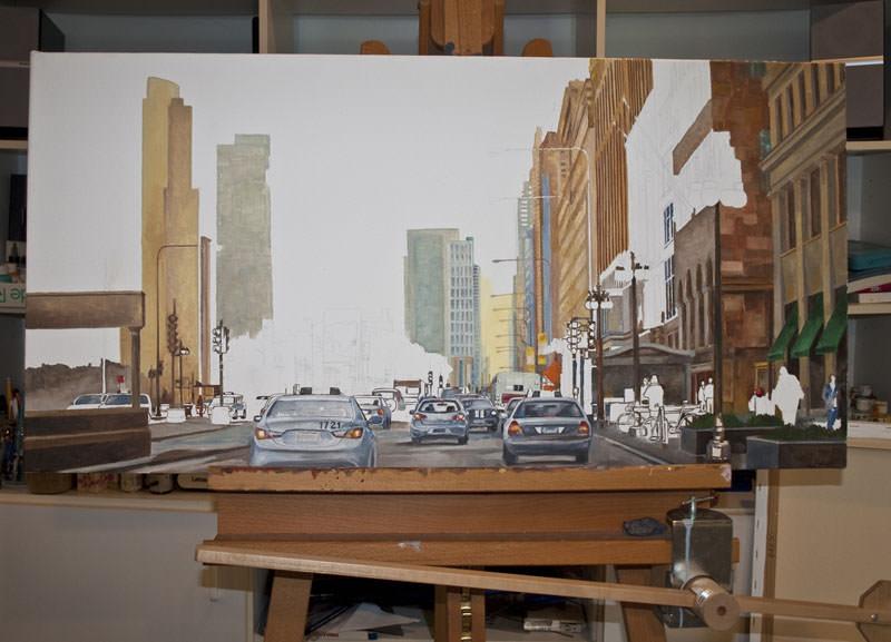 In progress City Scene May 6 2011